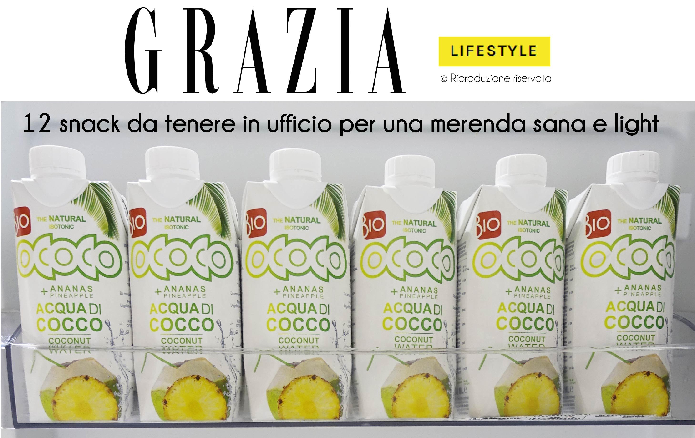 Grazia.it sceglie acqua di cocco
