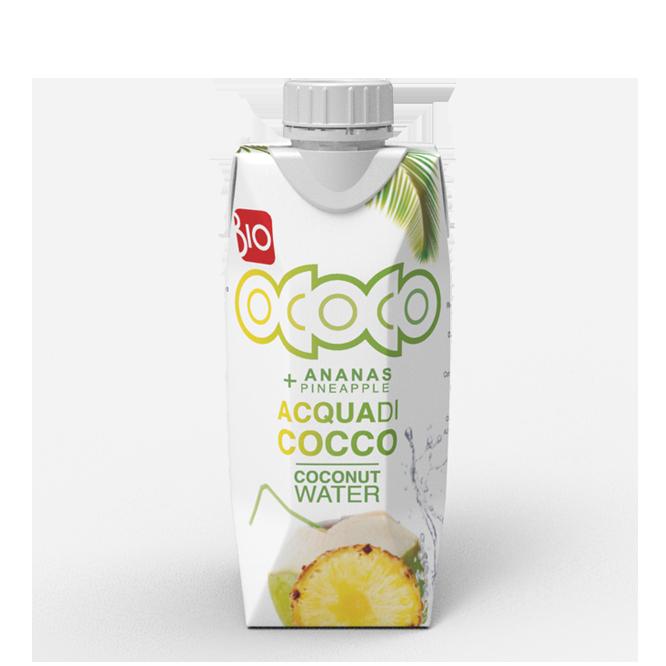 Acqua di cocco Ananas 330ml
