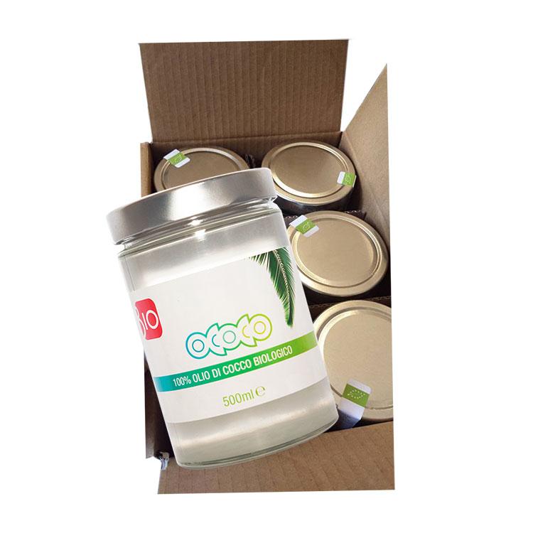 pacco olio di cocco 500ml